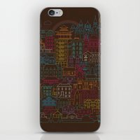 home sweet home iPhone & iPod Skins featuring Home Sweet Home by Rick Crane