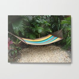 The Hammock Metal Print