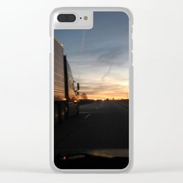 Big One Passing Clear iPhone Case