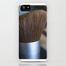 make up brush iPhone Case