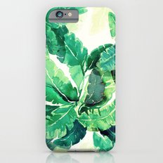 green summer leaves Slim Case iPhone 6s