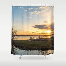 May Sunrise Shower Curtain
