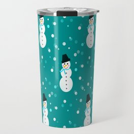 Little Snowmen Travel Mug