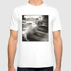 { afternoon boats } Mens Fitted Tee MEDIUM White