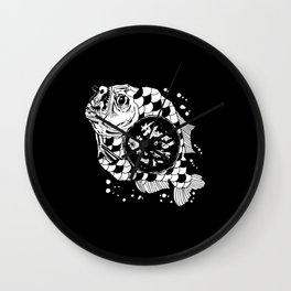 Hunger the Sea Wall Clock