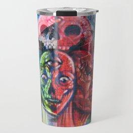 Aliens in the Graffiti Travel Mug