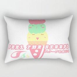 feel the scoops Rectangular Pillow