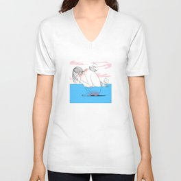 Bahala Na (Come What May) Unisex V-Neck