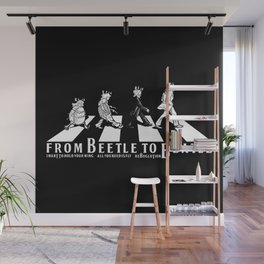 FROM BEETLE TO BEATLE Wall Mural