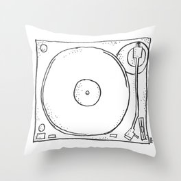 recordplayer Throw Pillow