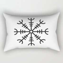 Aegishjalmur Rectangular Pillow