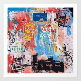 Basquiat Style 2 Kunstdrucke