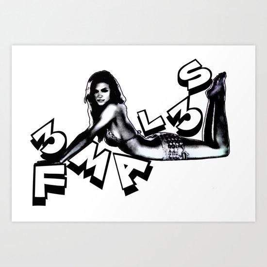 F3mal3s #4 Art Print