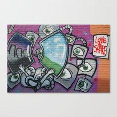 Love & Share Canvas Print