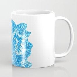 March's Blue 1  |artline drawing pens Coffee Mug