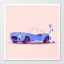 G'mas and their Hotrods Series, no.05 Shelby Cobra Canvas Print