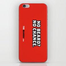 NO BEARD? NO CHANCE. iPhone & iPod Skin