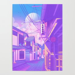 City Pop Kyoto Poster