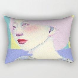 Pink Rectangular Pillow