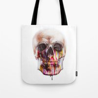 true blood Tote Bags featuring True Blood B by beart24