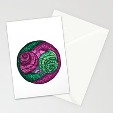 circle of snails Stationery Cards