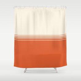 Marmalade & Crème Gradient Shower Curtain