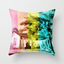 Sarasota Series Wash Day Throw Pillow