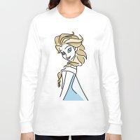 frozen elsa Long Sleeve T-shirts featuring Elsa (Frozen) by Maira Artwork