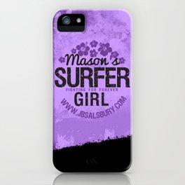 Mason's Surfer Girl iPhone Case