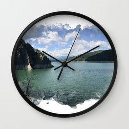 Vidraru Lake Landscape Wall Clock