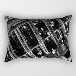 Lloyd's of London Absract Rectangular Pillow