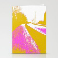 road Stationery Cards featuring Road by Mr and Mrs Quirynen