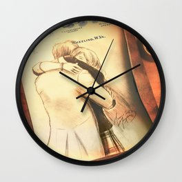 Clara and The Doctor [A Sketch] Wall Clock