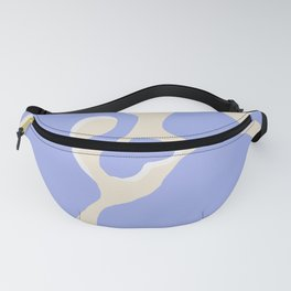 Blue mess Fanny Pack