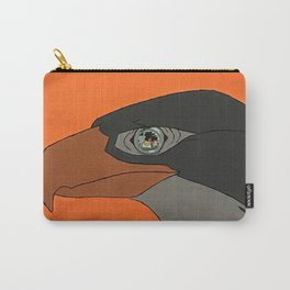 Falcon in the Wind Carry-All Pouch