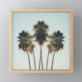 Palm Twins Framed Mini Art Print