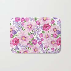 FLOWERS VI Bath Mat