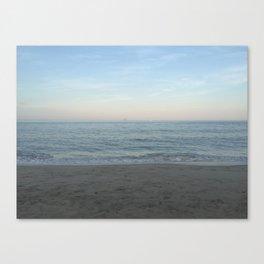 New England Beach Canvas Print