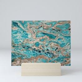 Beach Shallows 6 Mini Art Print