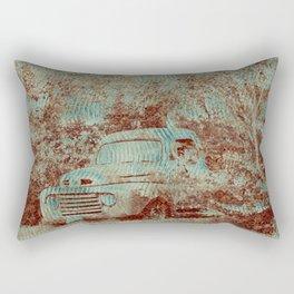 1950 Ford F100- Textured Rust Rectangular Pillow