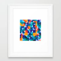 malachite Framed Art Prints featuring Malachite  by JoannaBucur