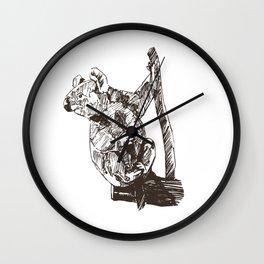 Koala Sanctuary Wall Clock