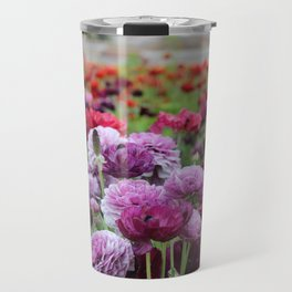 Ranunculus Field Travel Mug