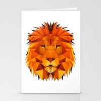 courage Stationery Cards featuring Courage by jenkydesign