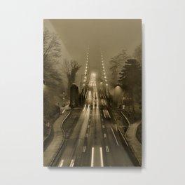 Lions Gate in the Fog 02 Metal Print