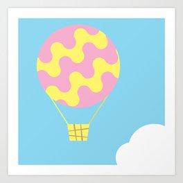 dream fly Art Print