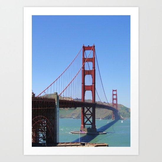 Good Old Golden Gate Art Print