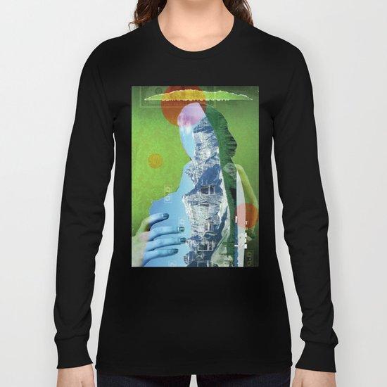 Melt · The Blue Queen Long Sleeve T-shirt