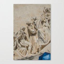 Parapluie bleu Canvas Print