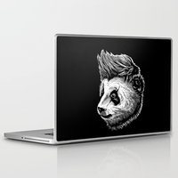 funky Laptop & iPad Skins featuring Funky panda by barmalisiRTB